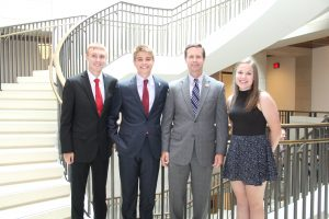 RECC students and Congressman RodneyDavis